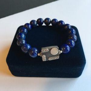 Lapislazuli stretch bracelet